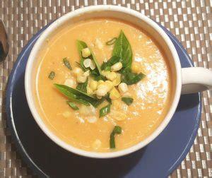 pressure cooker vegetarian corn chowder soup   gal