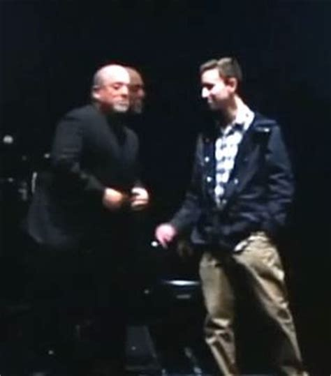 Billy Joel Is No Fan Of The National Anthem by College Fan Gets To Play With Billy Joel On Stage