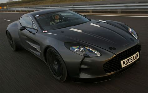 Aston Martins Price Aston Martin One 77 Does 220mph During Testing