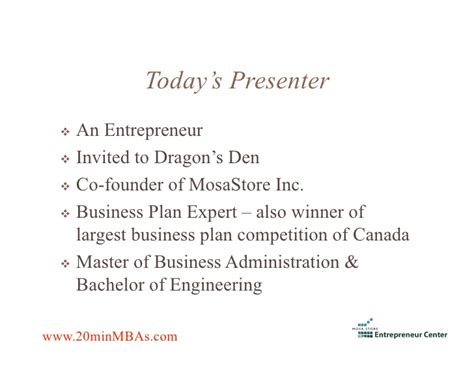 Business Plan Competitions Mba by How To Write Business Plan