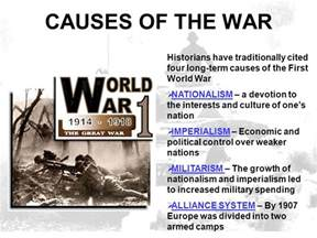Was Nationalism The Cause Of Ww1 Essay by College Essays College Application Essays Term Cause Of World War 1