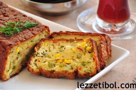 sebzeli patates keki kek tarifleri sebzeli kek tarifleri
