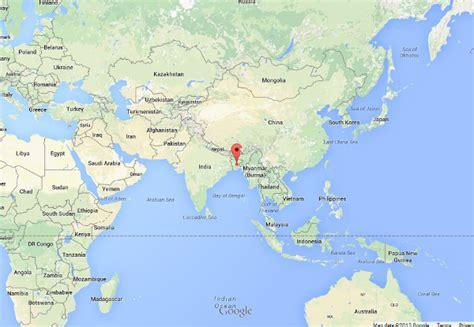 dhaka on world map dhaka world map factsofbelgium
