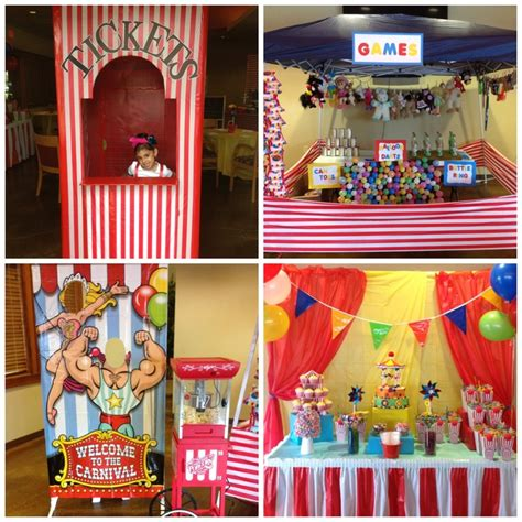 carnival themed games 277 best circus themed party images on pinterest party