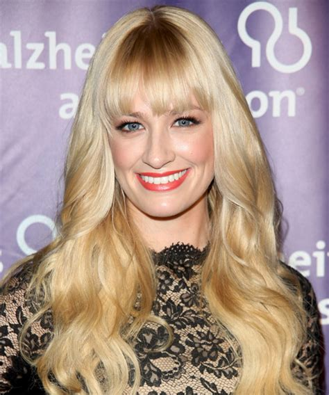 beth behrs hairstyle wavy medium beth behrs long wavy formal hairstyle