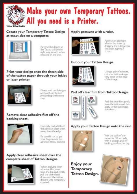 tattoo transfer paper melbourne 22 best custom and promotional logo temporary tattoos