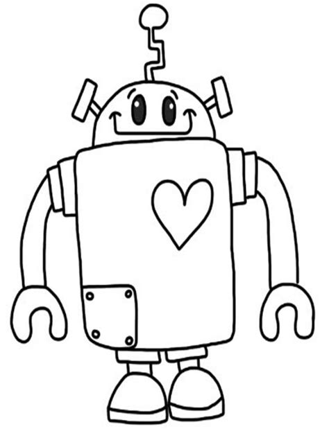 coloring pages with robots robot coloring page free printable robot coloring pages