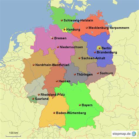 karta deutschland image gallery deutschland bundeslaender