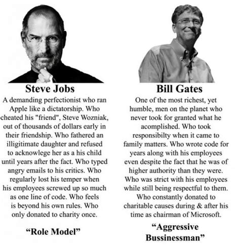 biography of bill gates and steve jobs public opinion steve jobs vs bill gates mopo geek