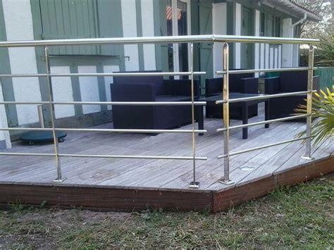barandilla de acero inoxidable para jard 237 n en capbreton - Barandilla Jardin