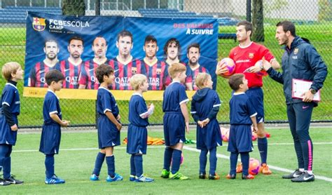 barcelona academy soccer academy coaches from barcelona impressed with