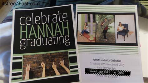 vinyl printing kinkos customized graduation announcements thanks to fedex office