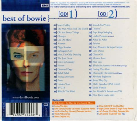 bowie best of david bowie best of bowie 3cd limited box set forum