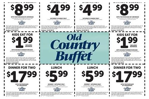 old country buffet coupons nov 2018