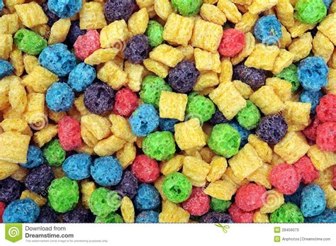 colorful cereal colorful cereal stock image image of mineral green