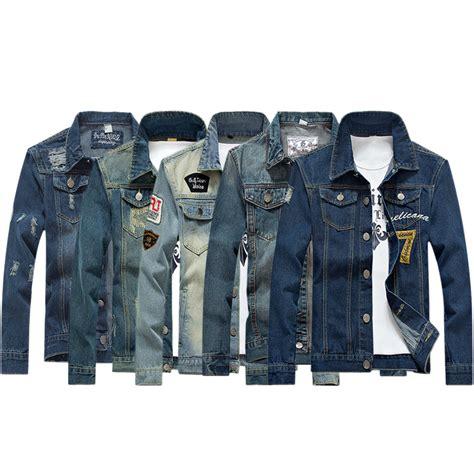 M 8 Styles Fashion Denim Jacket Slim Fit new 2016 style fashion denim jacket
