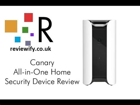 canary all in one home security device review