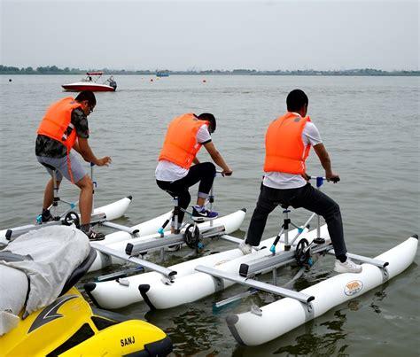 pedal boat propeller wholesale sea pedal power pedal boat aluminum frame