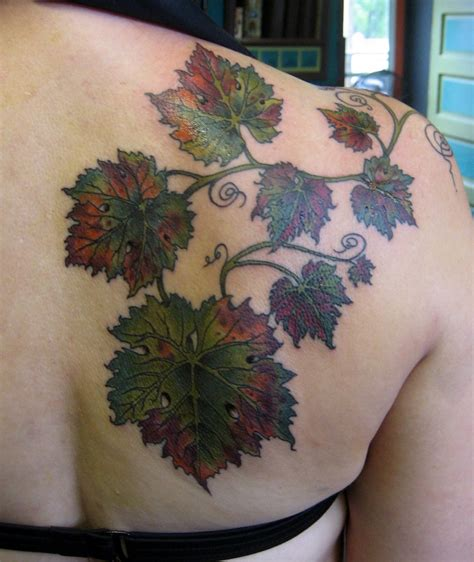 grape tattoo designs the world s catalog of ideas