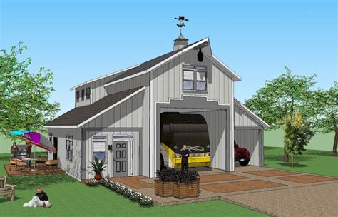 rv port home plans 5 rv garage that looks like a