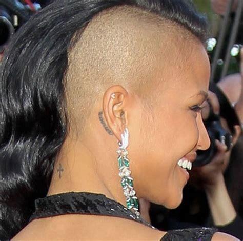 ankh tattoo behind ear 9 cassie ventura tattoos meanings pretty designs
