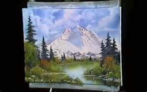 painting montana bob ross lied to me season 1 ep 2 mt mckinley