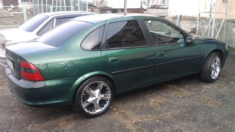 opel green opel vectra b green drive2