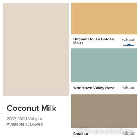 kitchen colors valspar coconut milk 2007 10c hubbell golden house maize 3004 5c woodlawn valley