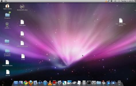 pc themes apple mac os x theme for ubuntu 11 04 sudobits free and open