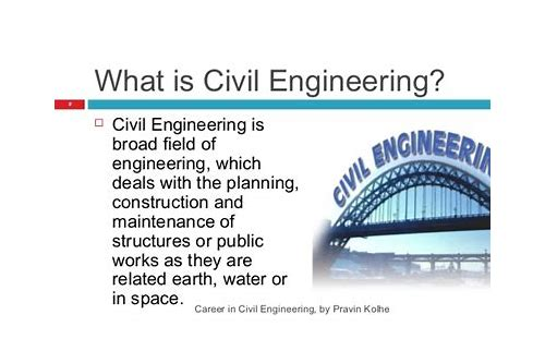 what does civil engineer deals with