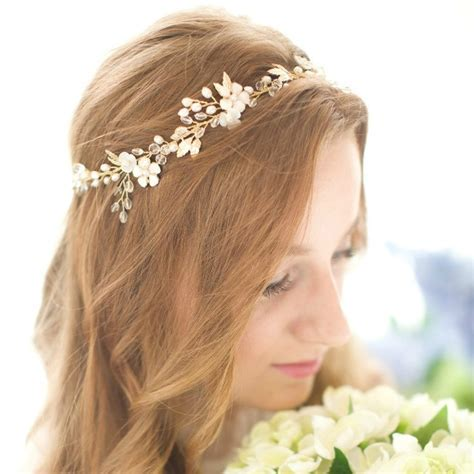 Medieval Maid Marian Style Wedding Hair Accessories