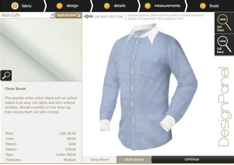 Design Your Dress Shirt | shirtsmyway design your own custom dress shirts