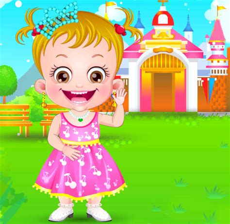 Girl baby dress up games online