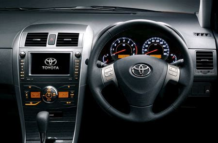 2007 toyota corolla axio launched in japan