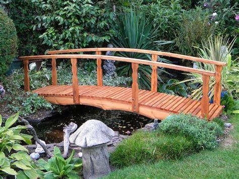 wooden garden bridge 1 8m ornamental wooden garden bridge