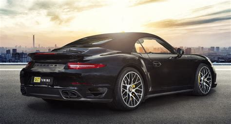 Porsche 911 Turbo S Tuning by O Ct Tuning Boosts 911 Turbo S Power Output To 669 Ps W