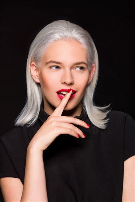 coupe cheveux gris femme automne hiver 2016 faretra