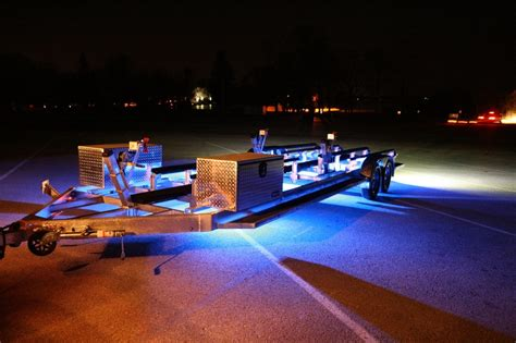 jet boat led lights place jet ski customized aluminum trailer with rigid lights