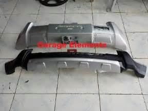 Isuzu Rear Bumper Isuzu Mux Front And Rear Bumper Nudge Or Ride All