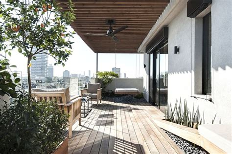 penthouse terrace duplex penthouse with roof terrace gets a graphical redesign