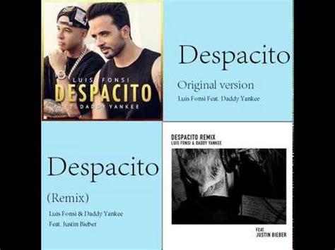 despacito remix mash up quot despacito quot and quot despacito remix quot youtube