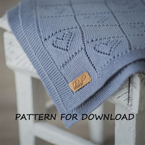 knit baby knit baby blanket pattern knitting pattern for babies by