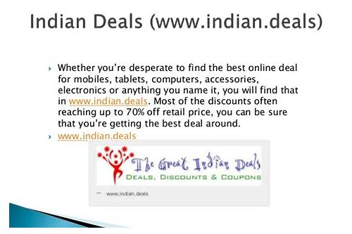 hottest deals online in india