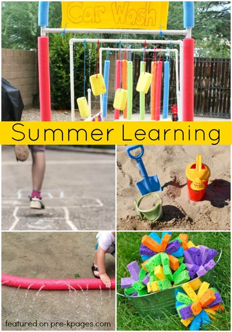 fun learning activities for 1845908929 summer learning activities for preschool pre k pages
