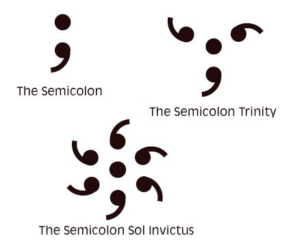 semicolon tattoo design www pixshark com images