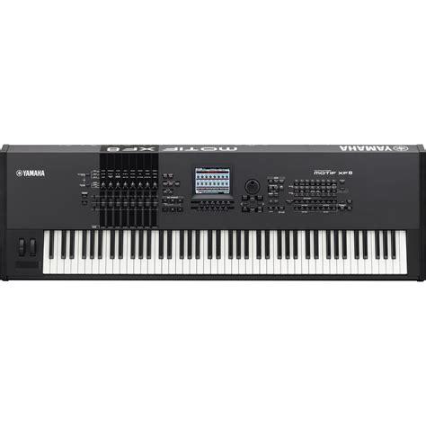 Keyboard Yamaha Motif Xf8 Yamaha Motif Xf8 Workstation Keyboard Motifxf8 B H Photo