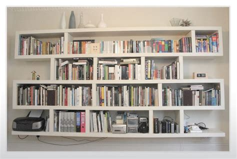 wall mounted bookshelves designs white wall mounted