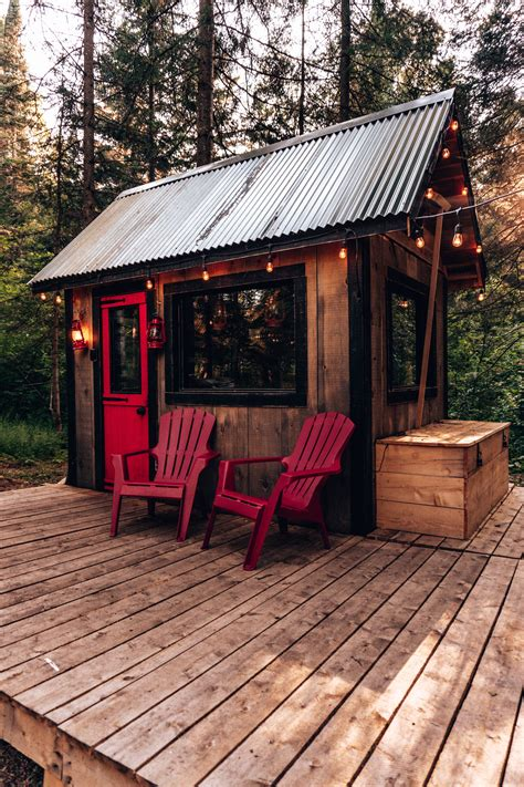 tiny house micro cabin shelter   house