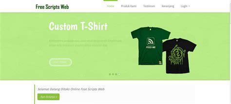 tutorial e commerce aplikasi toko online penjualan spare scripts php toko online e commerce berbasis web free
