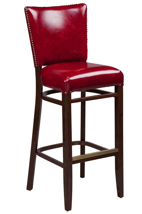 Upholstered Bar Height Chairs Regal Seating Series 2440 Wooden Counter Height Bar Stool